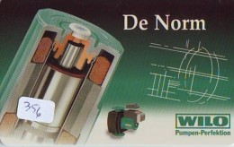 NEDERLAND CHIP TELEFOONKAART CRE 356 * Wilo  *  Telecarte A PUCE PAYS-BAS * ONGEBRUIKT MINT - Netherlands