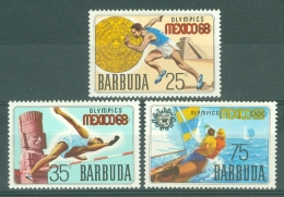 Barbuda: 1968   Olympic Games, Mexico     MH - Barbuda (...-1981)