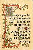 Citation De  R. Ripling  - Amitié (107507) - Märchen, Sagen & Legenden