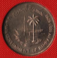 BAHRAIN 250 FILS Issa Ben Salmane  1389 (1969)  FAO KM# 7 - Bahrain