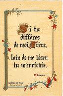 Citation De  St Exupérie - Lettre A Un Otage  (107508) - Märchen, Sagen & Legenden
