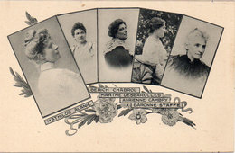 Les Annales - Mmes Mathilde Alanic Alberich Chabrol, Marthe Desbarolles, Adrienne Cambry, Baronne Staffe   (107510) - Femmes Célèbres