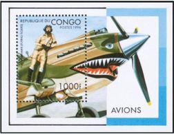 "Congo Bloc YT 63B "" Aviation "" 1996 Neuf** - Congo - Brazzaville"