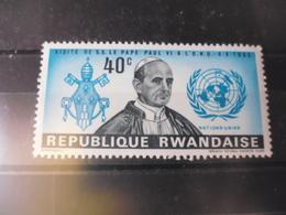 RWANDA YVERT N°145* - Rwanda