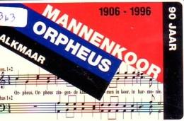 NEDERLAND CHIP TELEFOONKAART CRE 363 * MANNENKOOR ORPHEUS ALKMAAR *  Telecarte A PUCE PAYS-BAS * ONGEBRUIKT MINT - Netherlands