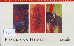 NEDERLAND CHIP TELEFOONKAART CRE 364 * Gasunie * Frank Van Hemert *  Telecarte A PUCE PAYS-BAS * ONGEBRUIKT MINT - Netherlands