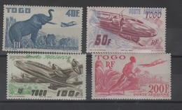 Togo_ Aviation (neufs)n°17/20 - Togo (1914-1960)