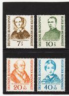 ORY199 DEUTSCHLAND BRD 1955 Michl 222/25 ** Postfrisch SIEHE ABBILDUNG - BRD