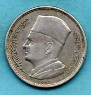 (r65)  MAROC / MOROCCO  1 Dirham  1960  Silver - Morocco