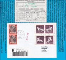 Austria Einschreiben Couvert Mit Aufgabeschein Klam Bei Grein 419 3AT - 1998 - Ganzsachen