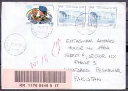 Italy (Italia) To Pakistan Used Traveled Cover (EN-21) - 2001-10: Marcophilia