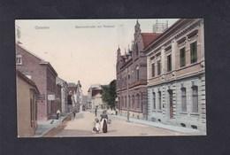 AK Opladen Leverkusen Bahnhofstrasse Mit Postamt ( Animée Reinicke & Rubin) - Leverkusen