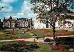 14 - Cabourg - Le Jardin Le Casino Et Les Villas - Fleurs - Automobiles - Carte Neuve - Voir Scans Recto-Verso - Cabourg