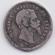 ITALIE - EMILIE - VITTORIO EMANUELE - 50 Centesimi 1860 G - Monete Regionali