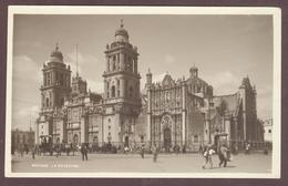 Mexico *  Cathédrale Métropolitaine De Mexico * Paseo De La Reforma * Mexique  México  2 Postales Antiguas Diferentes - Mexico