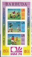 Barbuda 1974  Football Imperf MNH - Calcio