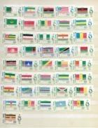 1969 MNH Egypt, Mi 385--425 Set Of 41 - Unused Stamps