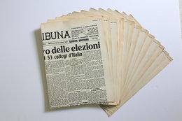 I GRANDI FATTI RIVISSUTI SUI GIORNALI DELL'EPOCA 48 GIORNALI VOL.3 DA COLLEZIONE - War 1939-45