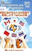 Télécarte JAPON * CHINA RELATED * THAILAND * USA * GB  CANADA (137) Telefonkarte Phonecard JAPAN * BEIJING - Japan