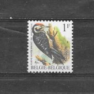 België 1990 Y&T  Nr 2349** - 1985-.. Birds (Buzin)