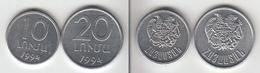 KWAZULU  10 + 20 (rand?)   1994  KWAZOULOU - Monnaies