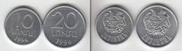 KWAZULU  10 + 20 (rand?)   1994  KWAZOULOU - Non Classés