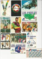 12 Calendars * Portugal * 1984/86/87/89 * K-Way - Calendars