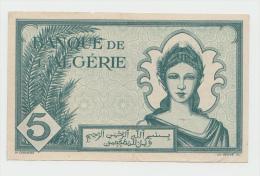ALGERIA 5 Francs 1942 AXF+  Pick 91 - Algeria