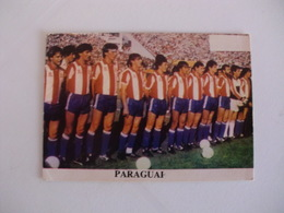Football Futebol World Cup México 86 Paraguay Team Portugal Portuguese Pocket Calendar 1986 - Calendars
