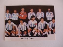 Football Futebol World Cup México 86 Argentina Team Portugal Portuguese Pocket Calendar 1986 - Calendars