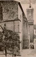 Cpa 11 ROQUEFORT-des-CORBIERES   L'Eglise St Martin Et La Mairie , Animée - Other Municipalities