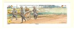 Vignette VIERGE Lisa Verdun Bastogne Atm Frama Cinderella Guerre Mondiale Militaria WW WK CASQUE - 2010-... Viñetas De Franqueo Illustradas