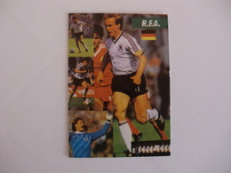 Football/Futebol Germany Players World Cup Of México1986 Portuguese Pocket Calendar 1986 - Calendars