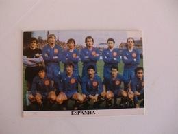 Football Futebol World Cup México 86 España Spain Team Portugal Portuguese Pocket Calendar 1986 - Calendars