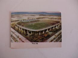 Football Futebol World Cup México 86 Stadium Neza Portugal Portuguese Pocket Calendar 1986 - Calendars