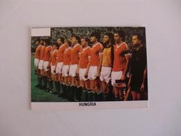 Football Futebol World Cup México 86 Hungary Team Portugal Portuguese Pocket Calendar 1986 - Calendars