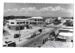 Madagascar -  TULEAR -  Rue CAMPISTRON - Banque : COMPTOIR NATIONAL D'ESCOMPTE DE PARIS -voyagé En 1959 - Madagascar