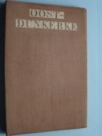 OOST-DUNKERKE ( MER DU NORD )  ( Kaart Op Katoen / Cotton ) Belgique 1895 ( J.B. De Lahoese ) 1/40.000 ! - Europe