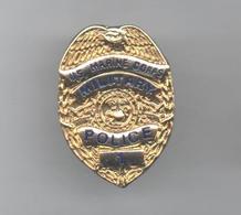 PINS PIN'S POLICE BLASON US MARINE CORPS MILITARY POLICE ARMEE EN RELIEF - Police