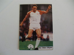 Football Futebol World Cup México 86 Der Däne Elkjaer Portugal Portuguese Pocket Calendar 1986 - Calendars