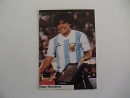 Football Futebol World Cup México 86 Diego Maradona Portugal Portuguese Pocket Calendar 1986 - Calendars