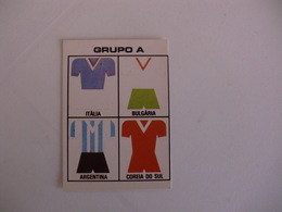 Football Futebol World Cup México 86 Group A Portugal Portuguese Pocket Calendar 1986 - Calendars