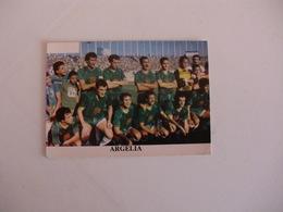 Football Futebol Team Équipe Seleção Algeria Argélia Portugal Portuguese Pocket Calendar 1986 - Calendars