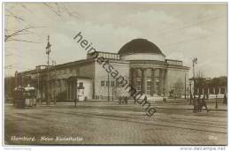 Hamburg - Neue Kunsthalle - Strassenbahn - Foto-AK 1931 - Unclassified