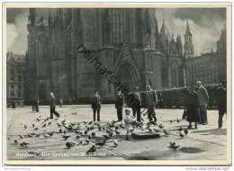 Hamburg - Die Tauben Vor St. Nikolai - AK-Grossformat - Unclassified