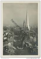 Hamburg - Blick Vom Rathausturm In Die Mönckebergstrasse - Petri-Kirche - Foto-AK Grossformat 1929 - Unclassified