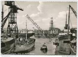 Hamburg - Hafen Mit Michaeliskirche - Foto-AK Grossformat - Unclassified