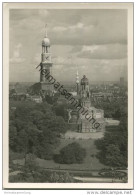 Hamburg - St. Michaeliskirche Und Bismarckdenkmal - Foto-AK Grossformat 1935 - Unclassified