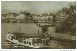 Hamburg - Blick Auf Den Neuen Jungfernstieg - Foto-AK - Unclassified