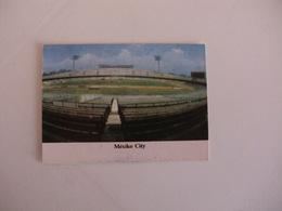 Football Futebol World Cup México 86 Stadium México City Portugal Portuguese Pocket Calendar 1986 - Calendars